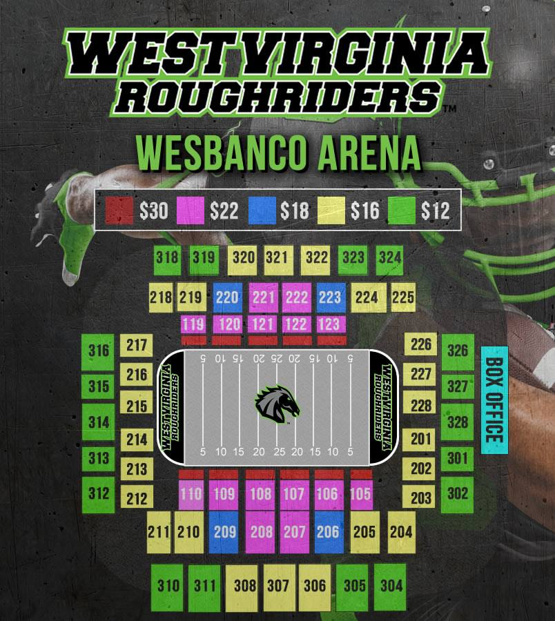 arena seating chart 2019